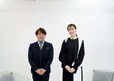 奥平会長と藤井サチさん